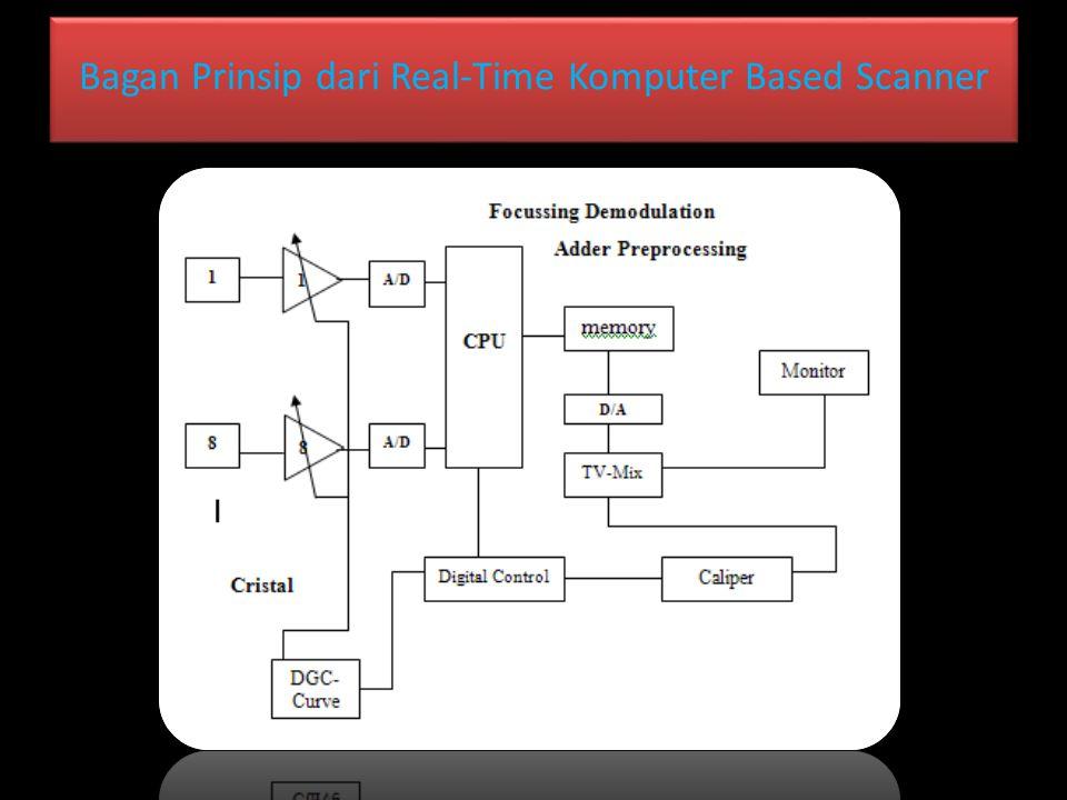 Bagan Prinsip dari Real-Time Komputer Based Scanner