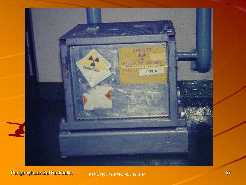 PDL.PR.TY.PPR.00.U06.BP Pengangkutan Zat Radioaktif 57