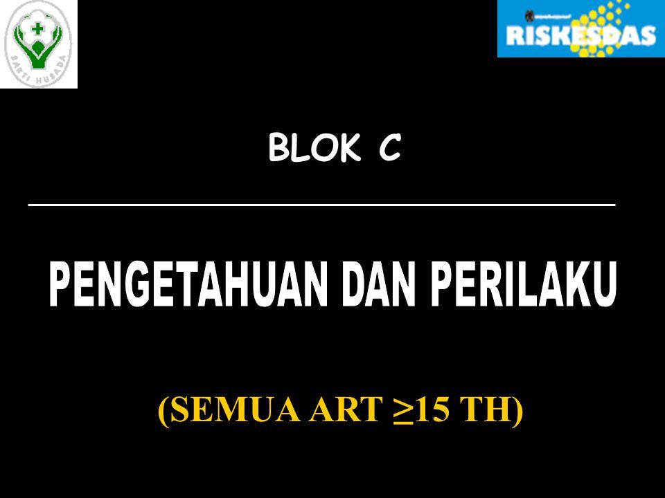 (SEMUA ART ≥15 TH) BLOK C