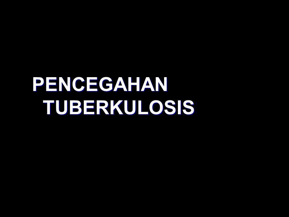 PENCEGAHAN TUBERKULOSIS