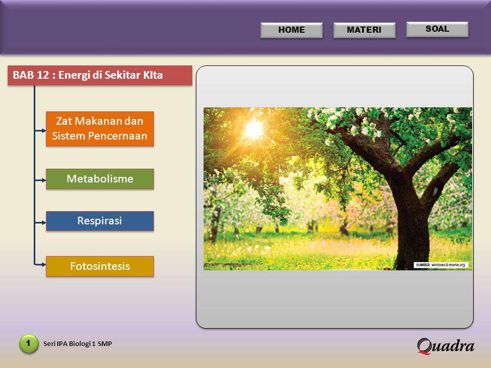 Seri IPA Kimia 1 SMP 12 HOME MATERI BAB 3 Image beberapa alat respirasi hewan.