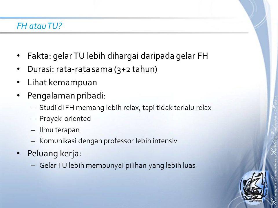 FH atau TU.