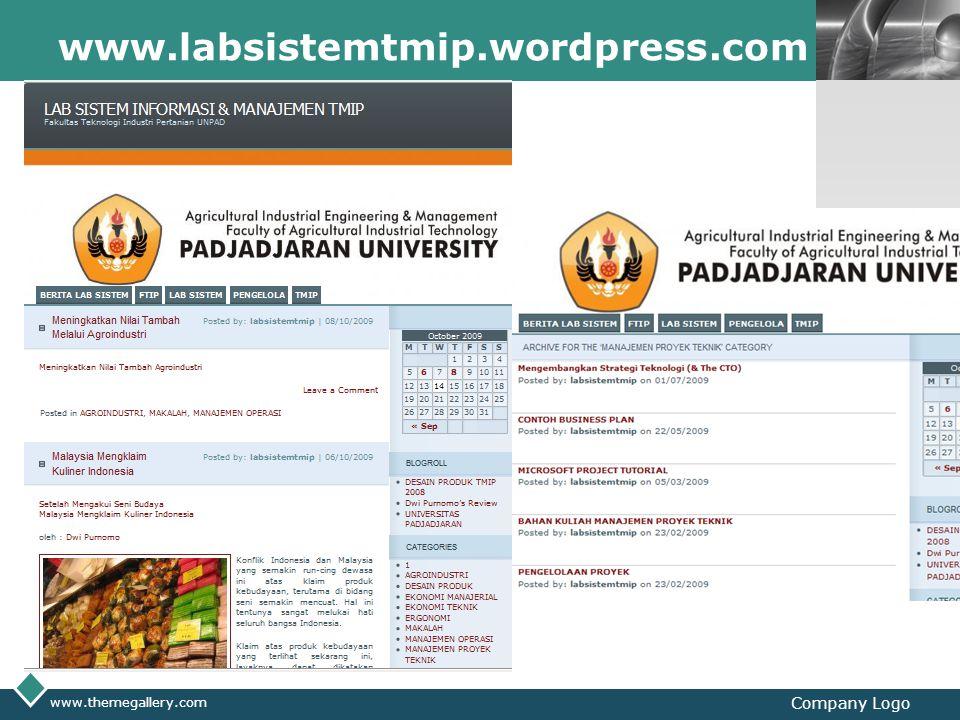 LOGO www.labsistemtmip.wordpress.com www.themegallery.com Company Logo