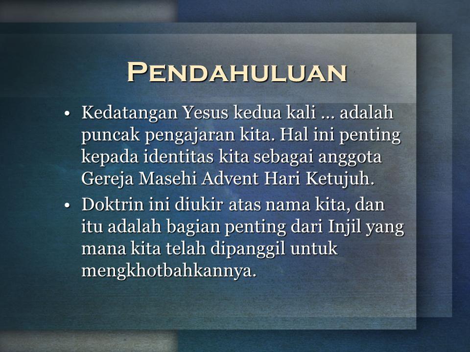 b Understand the purposes of marriageA Kedatangan Yesus Kedua Kali Selayang Pandang 3.