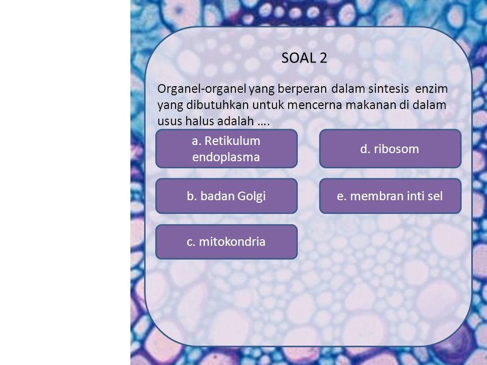SK/KD MATERI SIMULASI VIDEO SOAL PROFIL MENU SOAL 1 Bagian berikut dimiliki oleh sel prokariot dan eukariot adalah … a.