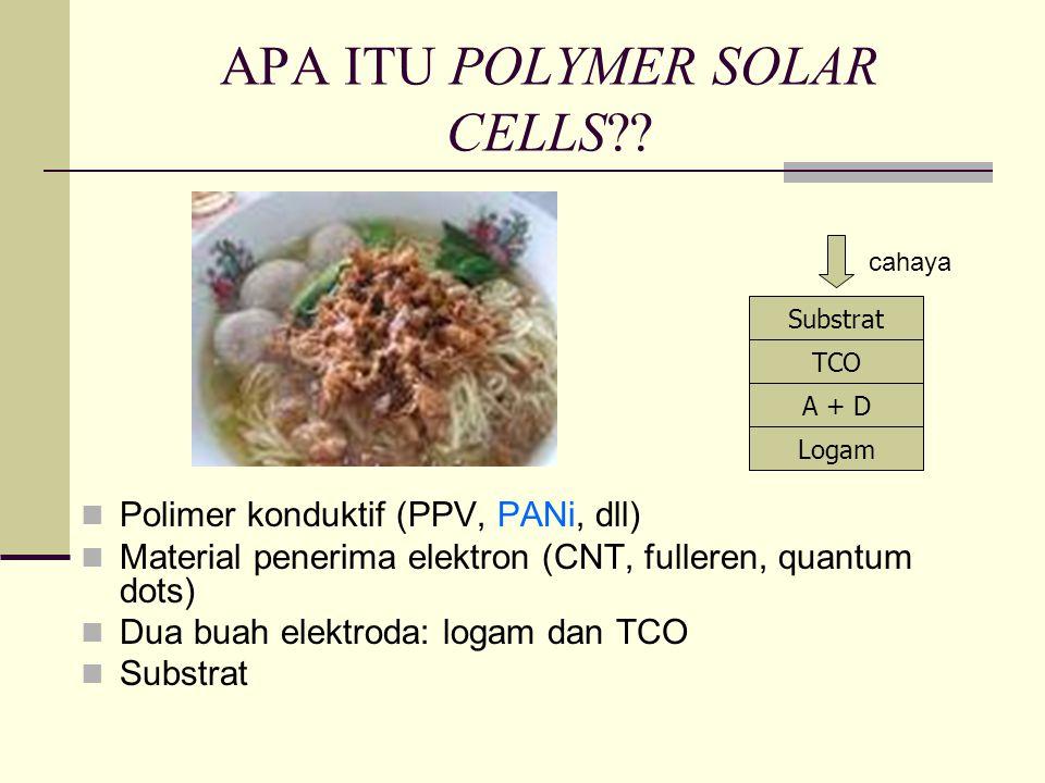 APA ITU POLYMER SOLAR CELLS?.
