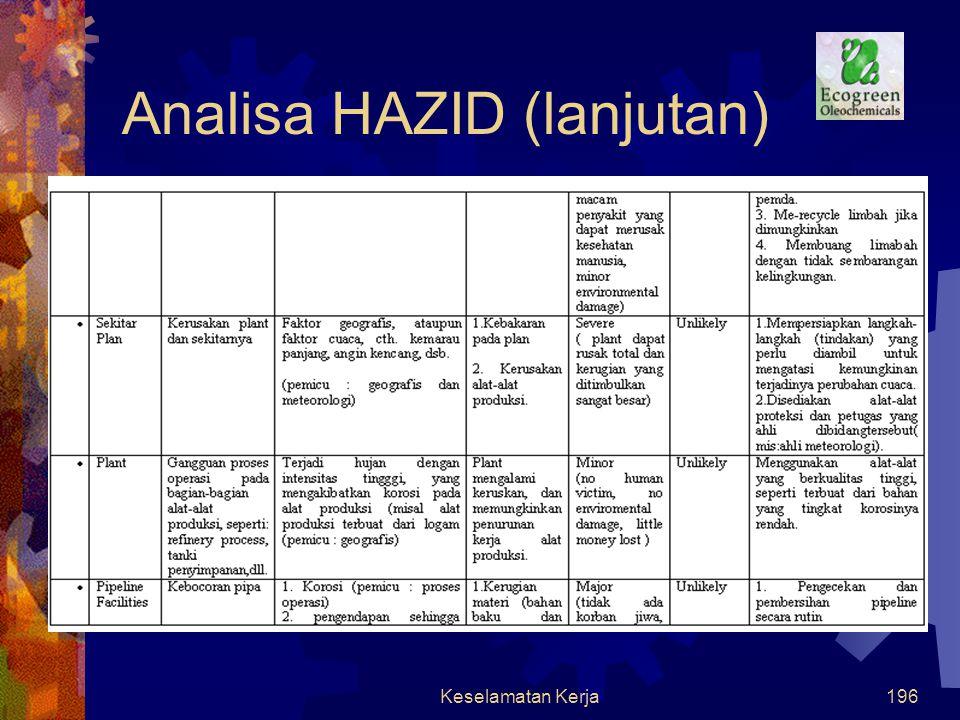Keselamatan Kerja195 Analisa HAZID
