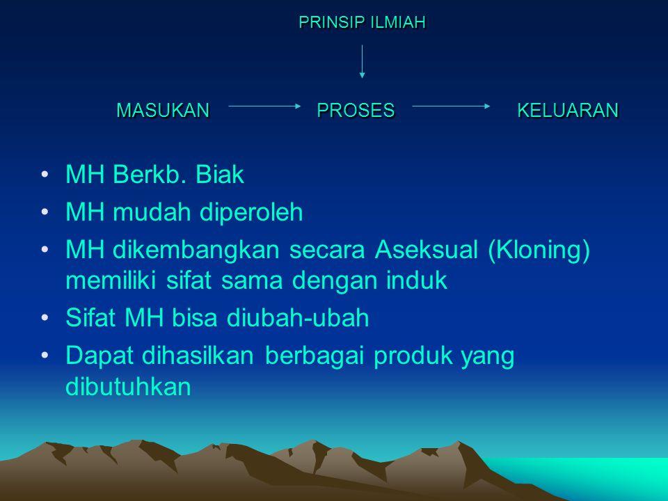 PRINSIP ILMIAH MASUKANPROSESKELUARAN PRINSIP ILMIAH MASUKANPROSESKELUARAN MH Berkb.
