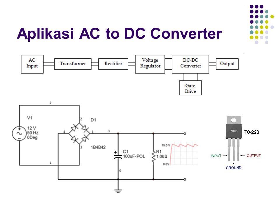 Aplikasi AC to DC Converter