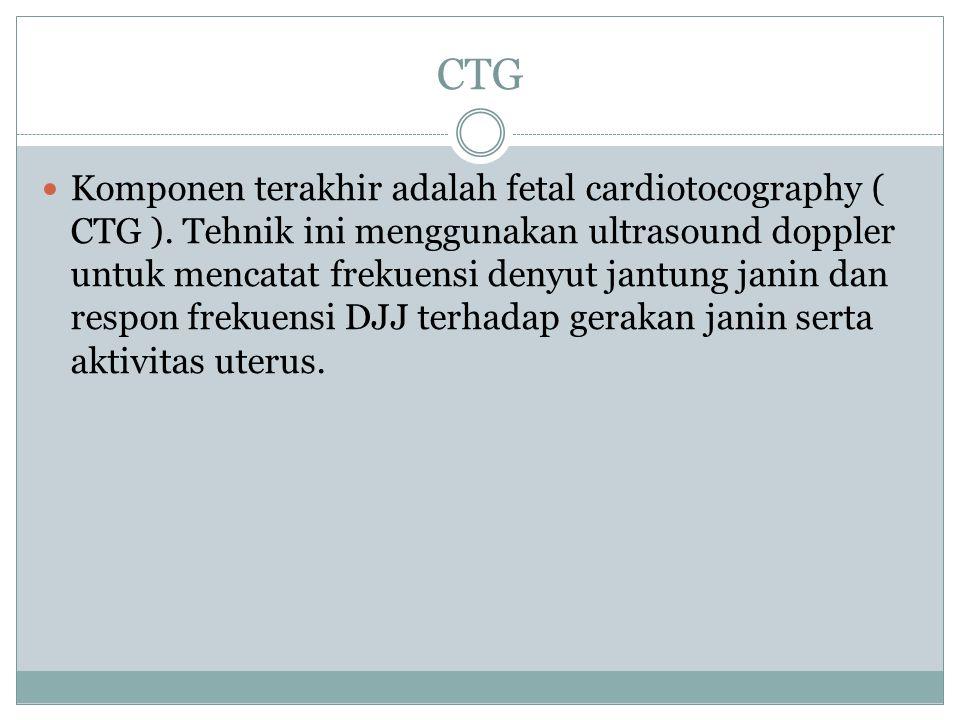Janin normal akan memberi respon terhadap gerakan tubuhnya dalam bentuk peningkatan frekuensi denyut jantung.