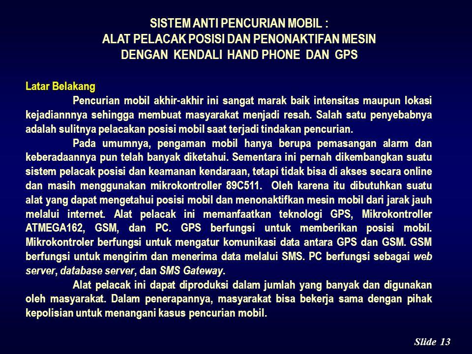 12 Slide Teknologi komputer dan soft computing dapat diterapkan untuk menghasilkan modul aplikasi pembagian harta waris sehingga umat Islam Indonesia