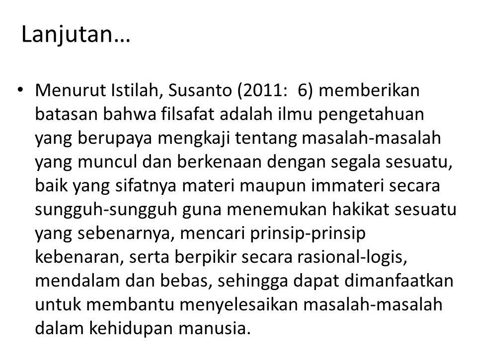Beberapa ahli (dalam Jalaluddin dan Idi.