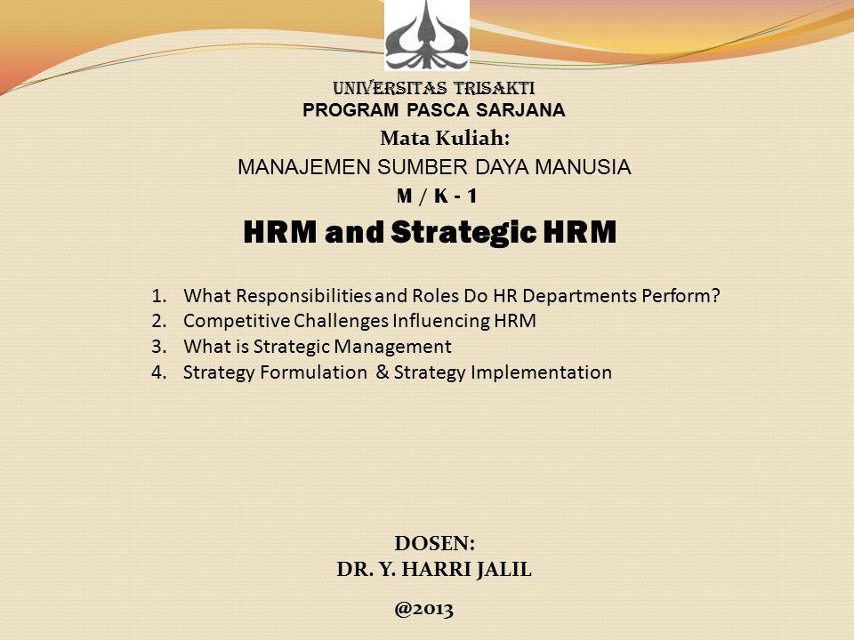 Kompetensi yang harus dimiliki oleh Profesional MSDM.