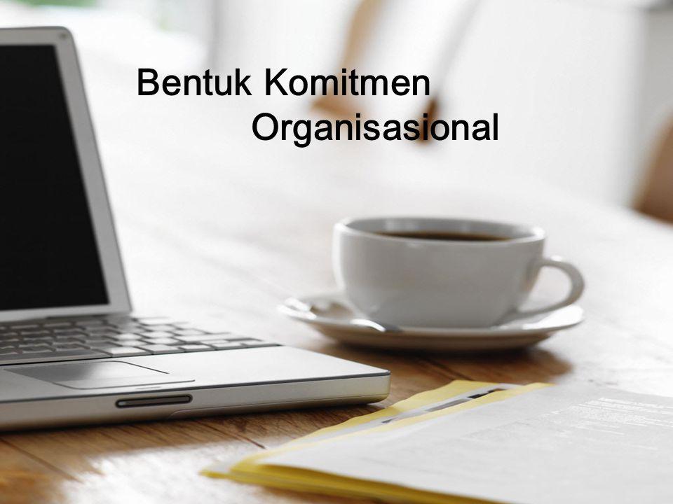 Meyer, Allen, dan Smith dalam Spector (1998) mengemukakan bahwa ada tiga komponen komitmen organisasional, yaitu : Affective commitment, terjadi apabila karyawan ingin menjadi bagian dari organisasi karena adanya ikatan emosional.