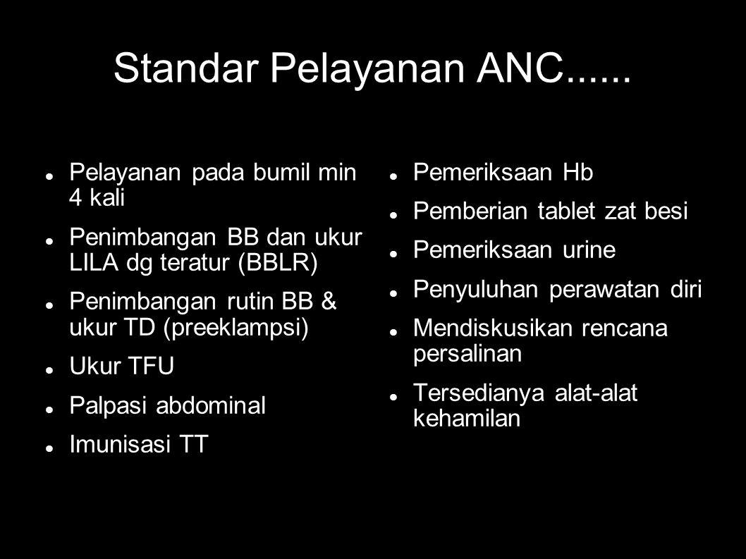 Standar Pelayanan ANC......