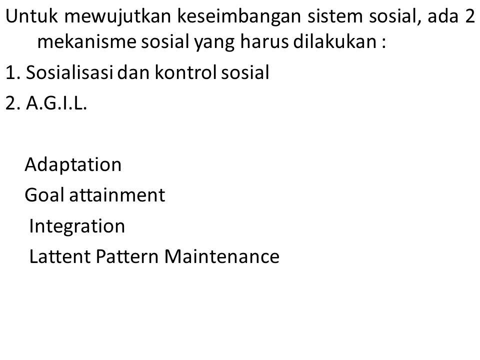 Kelebihan teori ini bila digunakan untuk mengendalikan masyarakat Indonesia a.l.