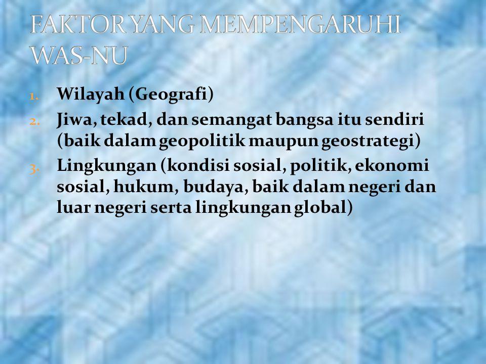 1.Wilayah (Geografi) 2.