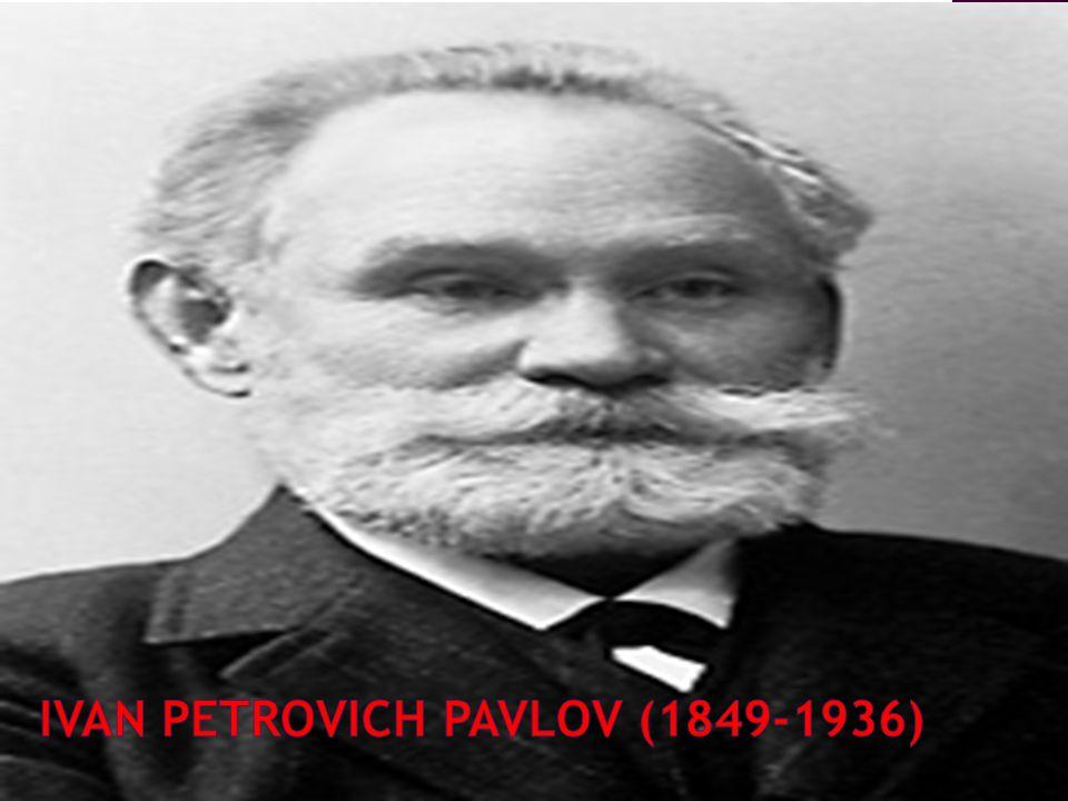 LATAR BELAKANG Ivan Petrovich Pavlov Lahir 14 September 1849 di Ryazan Rusia Meninggal di Leningrad pada tanggal 27 Februari 1936 Sekolah Seminari Teologi Gelaran Doktor pada 1879 Universiti, St.