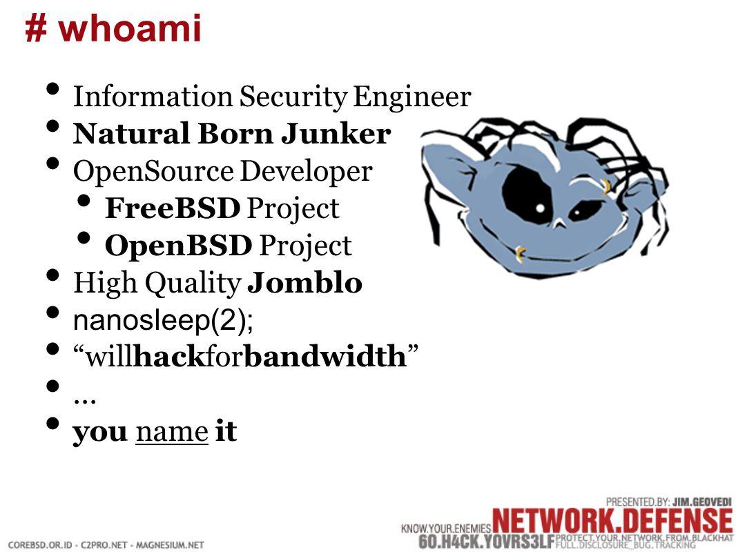 Mengenal tipikal attacks Mengenal fase-fase terjadinya sebuah attack Membangun sistim pertahanan yang baik Pengenalan security tools dan eksploit overview