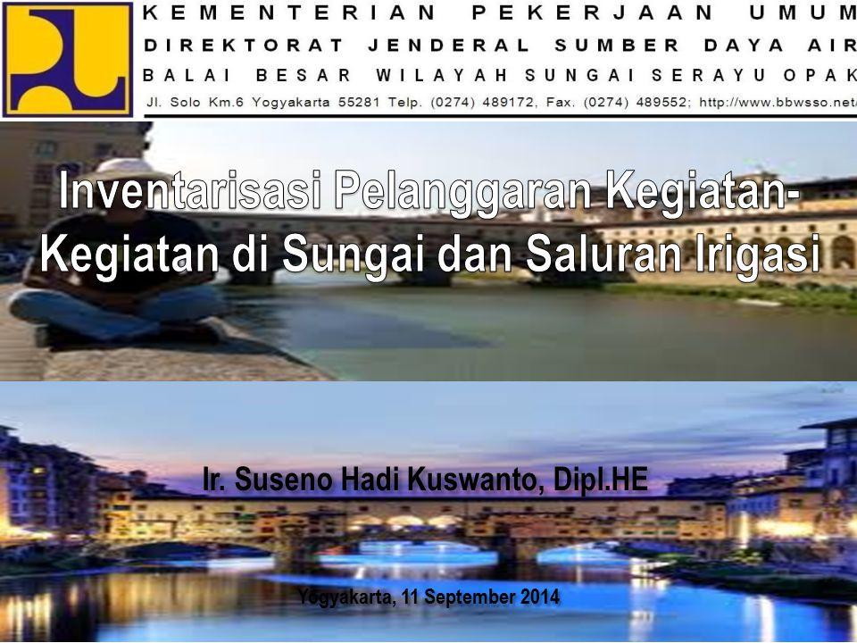 Yogyakarta, 11 September 2014 Ir. Suseno Hadi Kuswanto, Dipl.HE