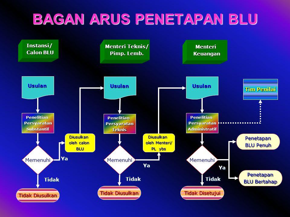 Direktorat PNBP dan BLU 11 3. Persyaratan Administratif a.Persyaratan Administratif digunakan oleh Kementerian Keuangan untuk menentukan suatu Satker/