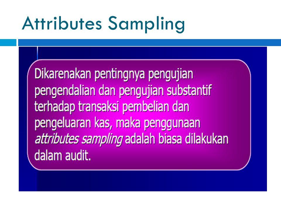 Attributes Sampling