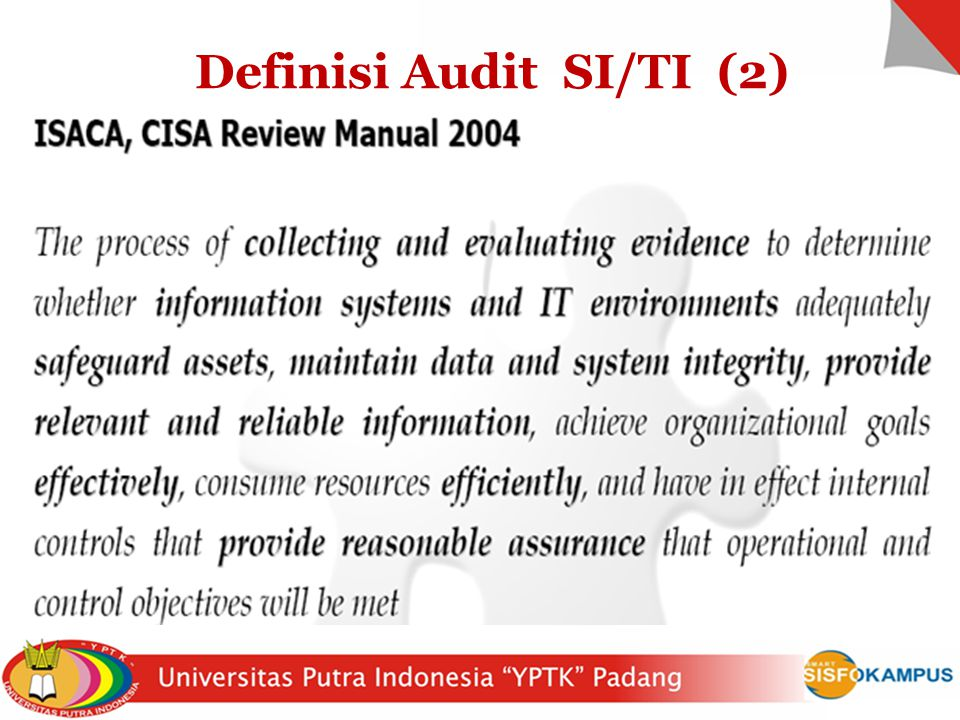 Definisi Audit SI/TI (2)