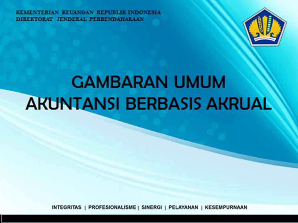 INTEGRITAS  PROFESIONALISME  SINERGI  PELAYANAN  KESEMPURNAAN KEMENTERIAN KEUANGAN REPUBLIK INDONESIA DIREKTORAT JENDERAL PERBENDAHARAAN Jakarta G