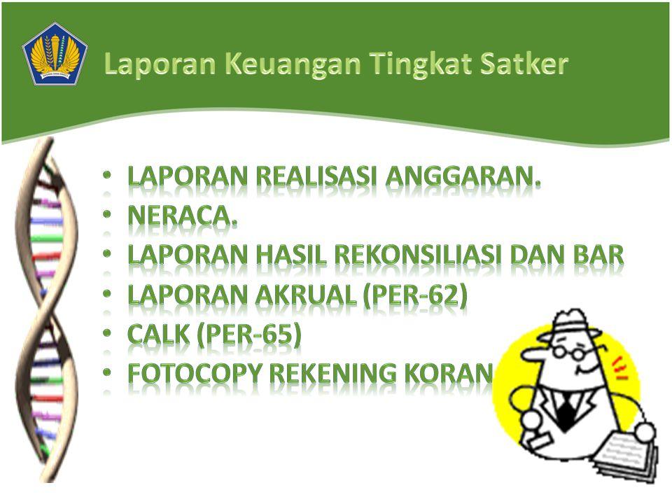 LPJ Bendahara Pengeluaran/Penerimaan disampaikan ke KPPN paling lambat tanggal 1 3 Januari 2012.