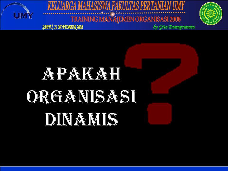 APAKAH organisasi DINAMIS