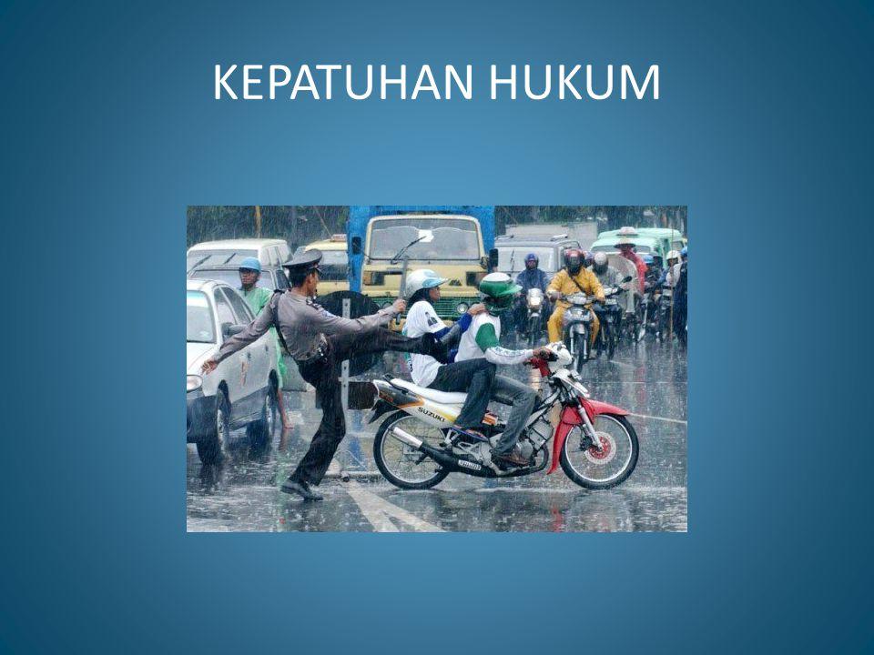 KEPATUHAN HUKUM