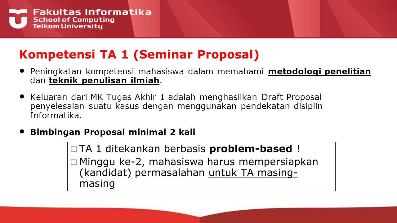 12-CRS-0106 REVISED 8 FEB 2013 Peningkatan kompetensi mahasiswa dalam memahami metodologi penelitian dan teknik penulisan ilmiah.