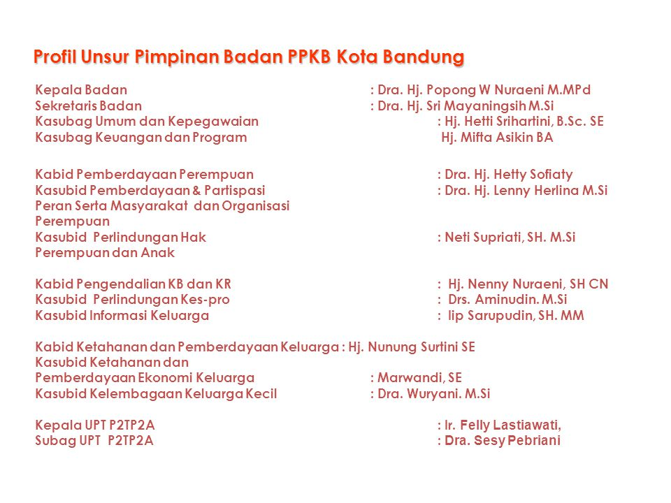 Kebijakan : Program BPPKB Permendagri No.13/2006 Yo.to 59 / 2007 Permendagri No.