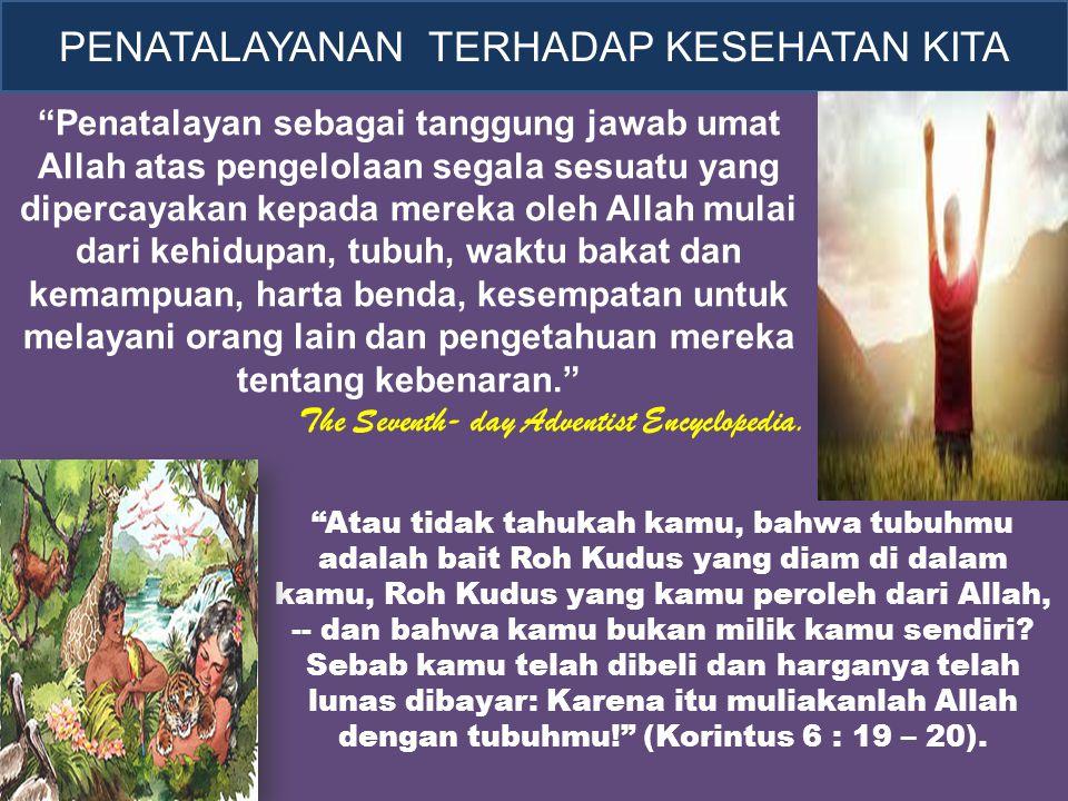 """""""Atau tidak tahukah kamu, bahwa tubuhmu adalah bait Roh Kudus yang diam di dalam kamu, Roh Kudus yang kamu peroleh dari Allah, -- dan bahwa kamu bukan"""