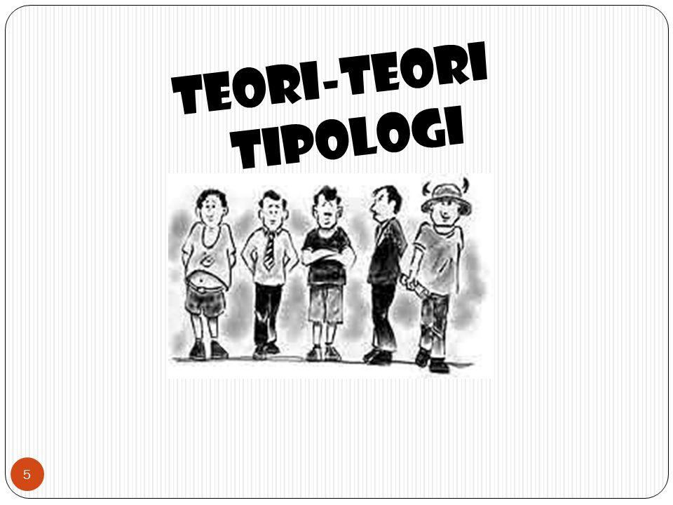 TEORI-TEORI TIPOLOGI 5