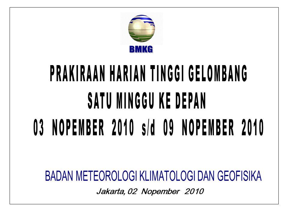 Jakarta, 02 Nopember 2010