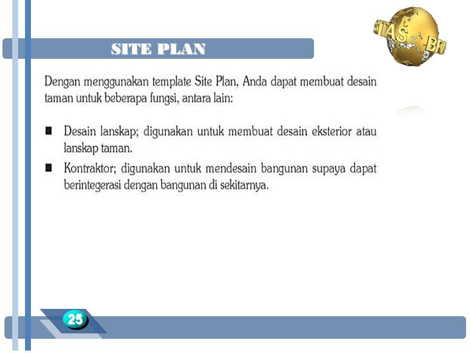 SITE PLAN 2525