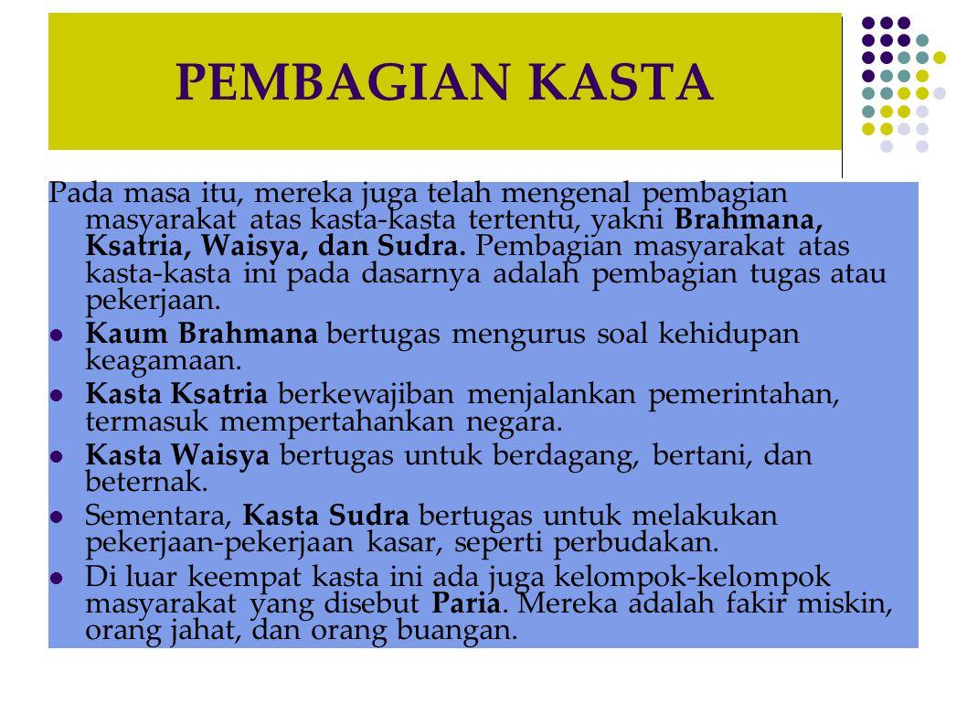 JALUR MASUK DAN BERKEMBANGNYA AGAMA SERTA KEBUDAYAAN HINDU-BUDDHA DI INDONESIA Perkembangan penyebaran Agama Hindu dan Buddha selanjutnya dilakukan juga oleh peziarah asal Cina yang akan pergi ke India singgah terlebih dahulu di Indonesia.