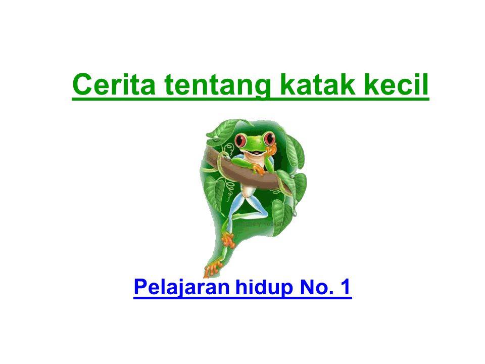 Cerita tentang katak kecil Pelajaran hidup No. 1