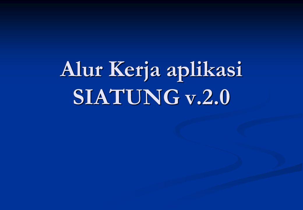 Alur Kerja aplikasi SIATUNG v.2.0