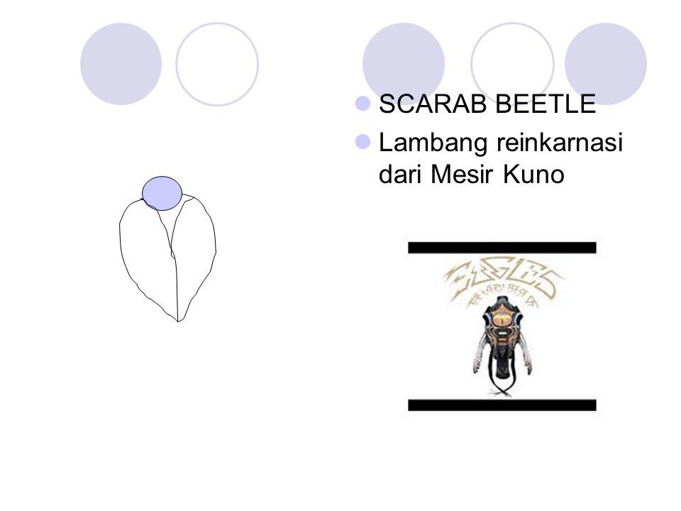 SCARAB BEETLE Lambang reinkarnasi dari Mesir Kuno