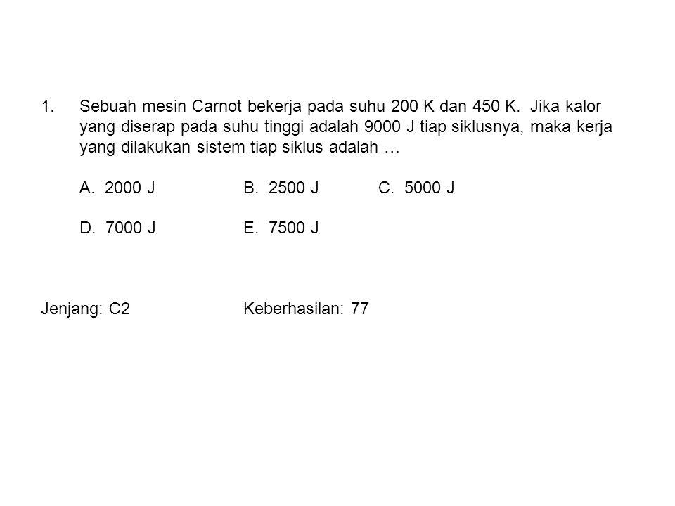 V (m 3 ) P (10 5 Pa) 1 3 24 A B C 2.
