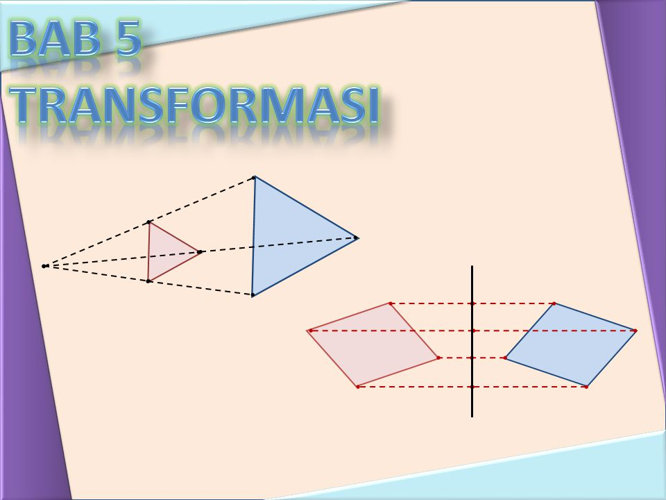 Garis P′Q′ adalah bayangan dari garis PQ oleh refleksi terhadap garis m.