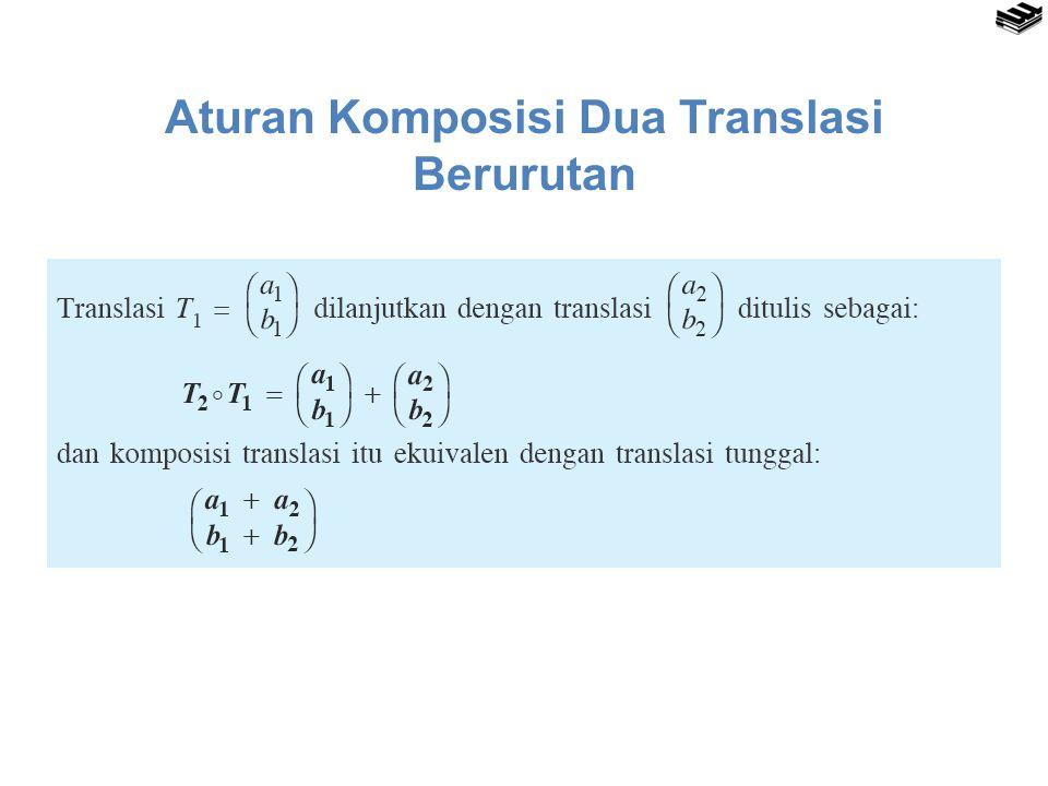 Aturan Komposisi Dua Translasi Berurutan