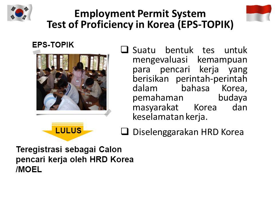  Amandemen Undang–undang Tenaga Kerja Migran Republik Korea tanggal 9 Oktober 2009 (yang baru), dan berlaku mulai tanggal 10 April 2010 bahwa semula