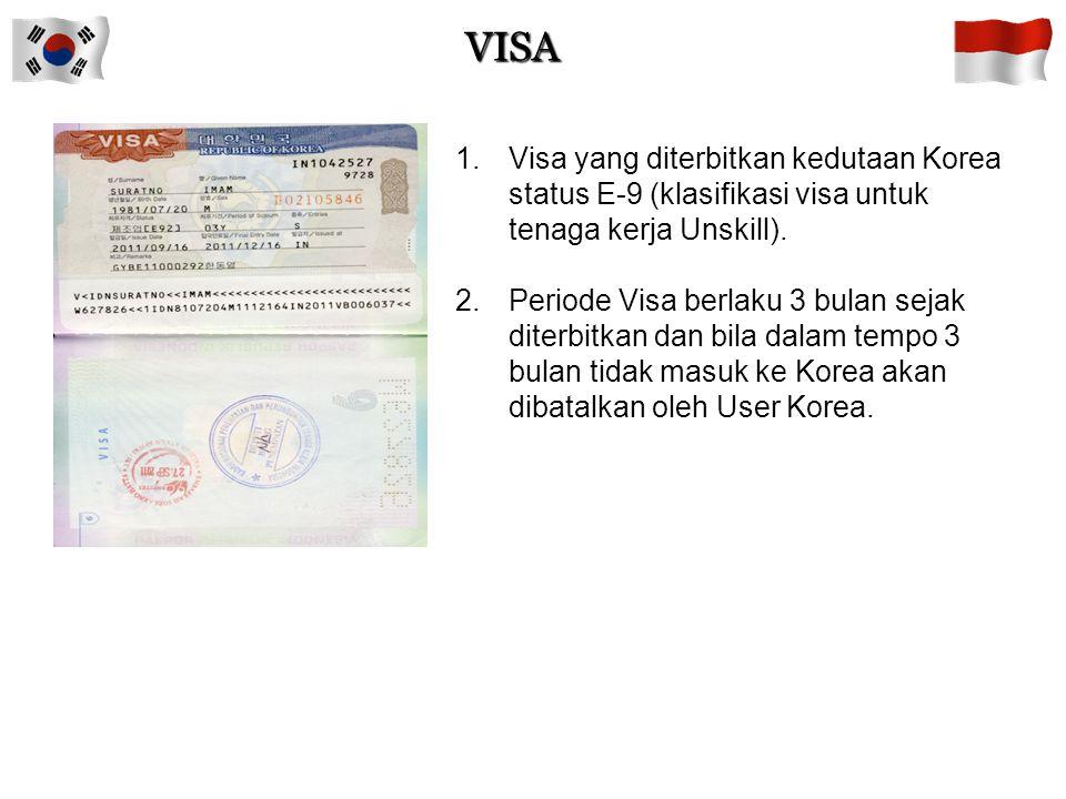 Prosedur Apply Visa 38 CCVI IMIGRASI KOREA BNP2TKI KEDUTAAN KOREA (bila data CTKI diragukan) (bila CTKI Pernah melakukan pelanggaran keimigrasian) VISA  Mengisi Form Aplikasi Visa CTKI  Proses penerbitan Visa 7 hari sejak apply visa CANCELREJECT Permohonan Visa Ke Kedutaan Korea dan Apply Visa Proses penerbitan isa  Melengkapi persyaratan  Membayar biaya Visa