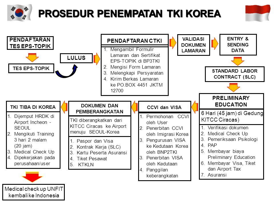 Dalam hal penempatan TKI Program G to G, BNP2TKI berkoordinasi dengan instansi terkait yaitu kementerian Luar Negeri, kemenenterian tenaga kerja dan t