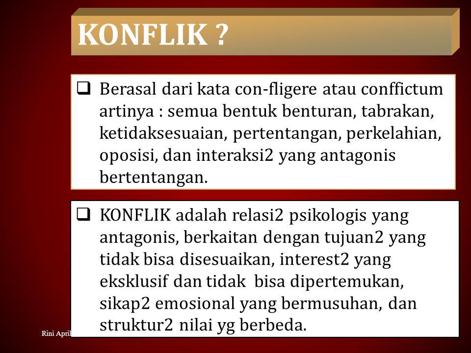 KONSEKUENSI KONFLIK ANTAR KELOMPOK A.Perubahan Dalam Kelompok B.
