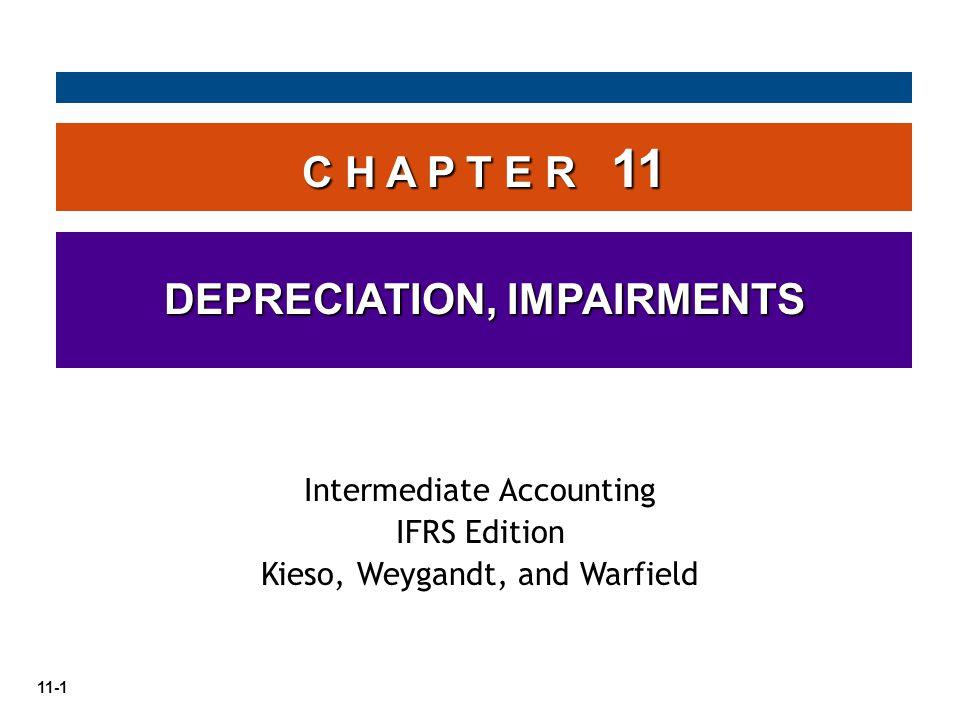 11-22 LO 5 contoh: diasumsikan bahwa Cruz Company melakukan uji penurunan nilai untuk peralatan yang dimilikinya.