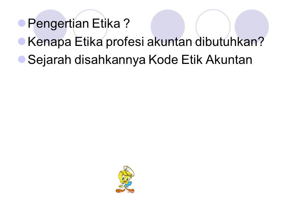 ATURAN ETIKA 201.